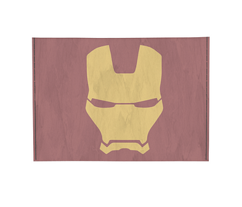 dobra - Porta Cartão - Minimalist Iron Man