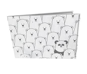 dobra - Carteira Old is Cool - Panda Intruso