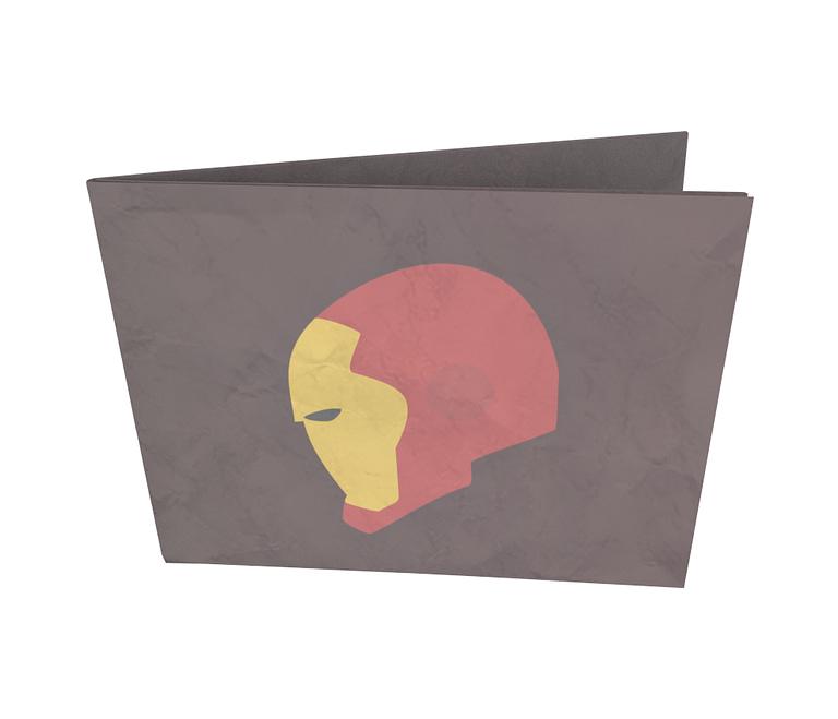 dobra - Nova Carteira Clássica - Homem de Ferro minimalista
