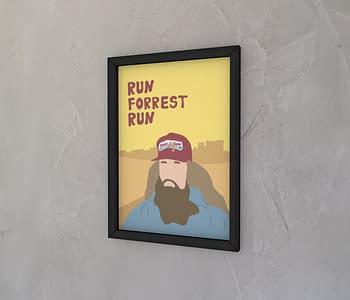 dobra - Quadro - Run, Forrest, Run