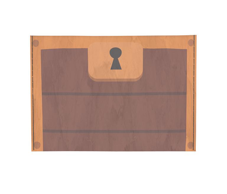 dobra - Porta Cartão - RPG D&D Mímico