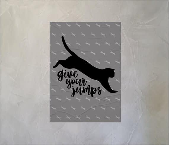 dobra - Lambe Autoadesivo - give your jumps