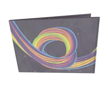 dobra - Carteira Old is Cool - Rainbow Coaster - Dark