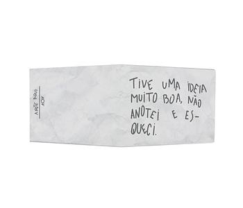 dobra - Nova Carteira Clássica - Esqueci De anotar