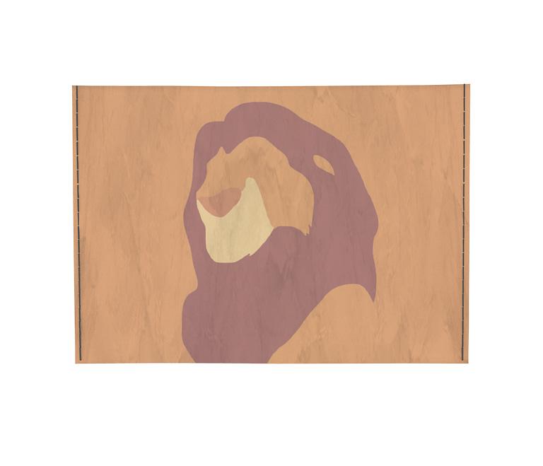 dobra - Porta Cartão - The lion