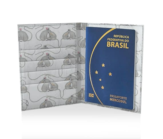 dobra porta passaporte macaquinhos bali