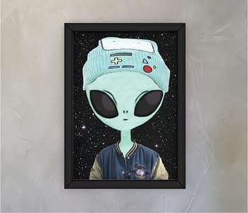 dobra - Quadro - Alienígena descolado