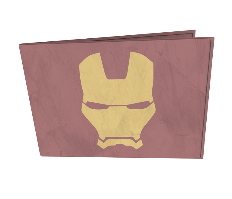 dobra - Carteira Old is Cool - Minimalist Iron Man