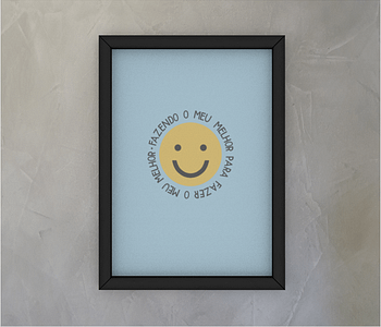 dobra - Quadro - Smile