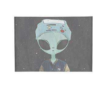 dobra - Porta Cartão - Alienígena descolado