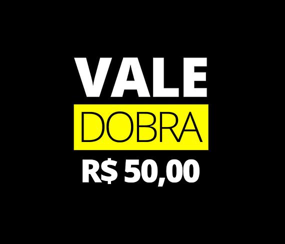 vale presente da dobra - 50 reais