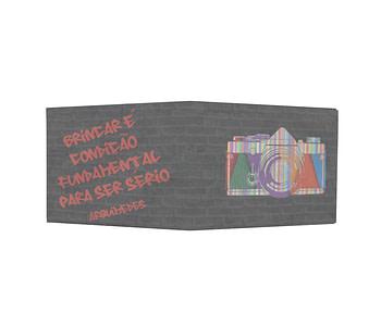 dobra - Nova Carteira Clássica - Arte Urbana - Arquimedes