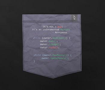 dobra bolso programador viciado