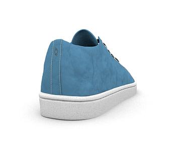 dobra tenis lisa azul