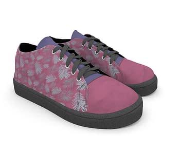 dobra - Tênis - foliage sobre rosa