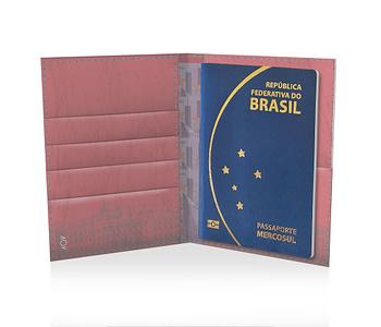 dobra porta passaporte la cartera de papel