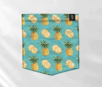 dobra - bolso trocável - abacaxi