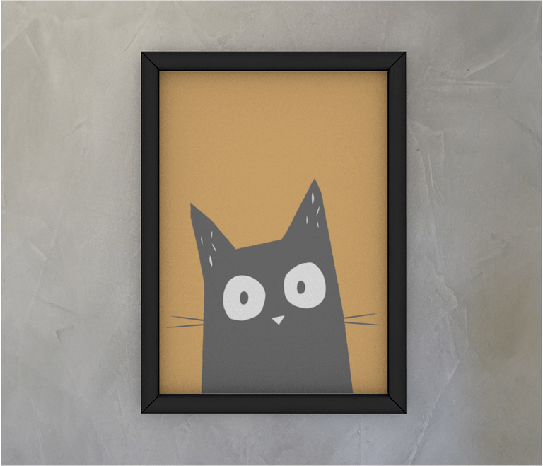 dobra - Quadro - Gato Pitoco