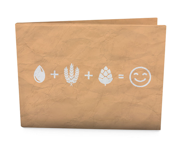 carteira dobra edelbrau - água, malte, lúpulo
