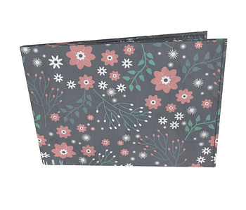dobra - Carteira Old is Cool - Floral Liberty Fantasy