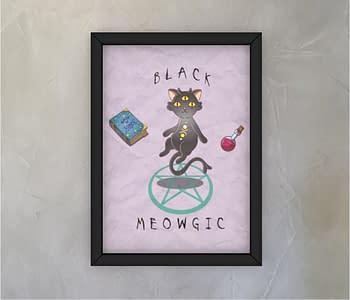 dobra - Quadro - Black Meowgic