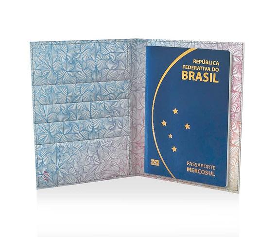 dobra passaporte formas psicodélicas