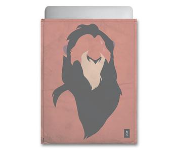 dobra - Capa Notebook - Minimalist bad lion