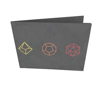 dobra - Nova Carteira Clássica - RPG D&D Dados