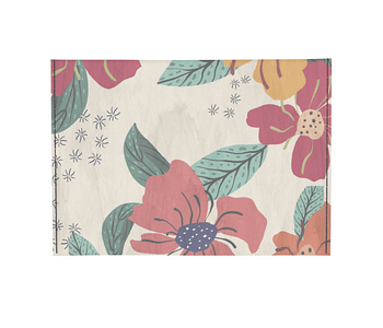 dobra - Porta Cartão - Floral Divertido