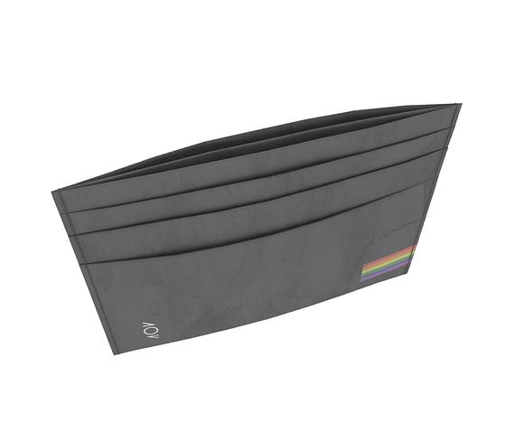 dobra - Porta Cartão - Pride Minimalist - Black