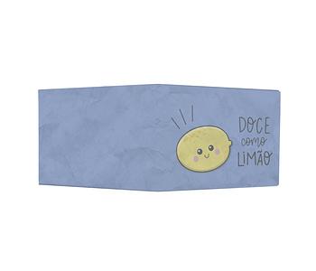 dobra - Nova Carteira Clássica - Doce como limão