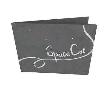 dobra - Nova Carteira Clássica - Space Cat