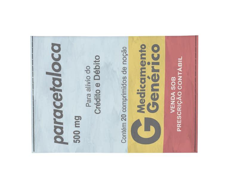 dobra - Porta Cartão - paracetaloca