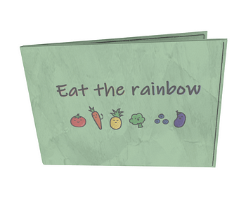 dobra - Carteira Old is Cool - Eat the rainbow!
