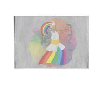 dobra - Porta Cartão - Orixá Oxunmarê