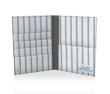 dobra porta passaporte tricolor vertical