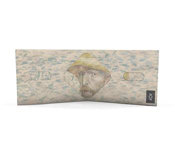 dobra classica autorretrato com chapeu de palha