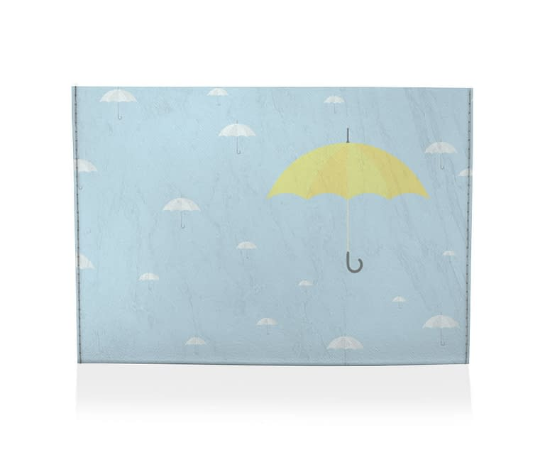 dobra porta cartao yellow umbrella