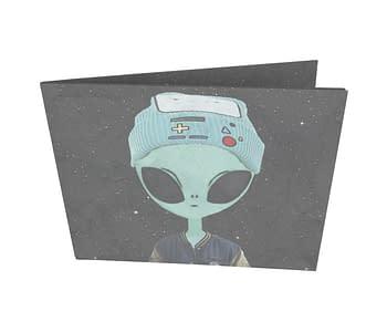 dobra - Nova Carteira Clássica - Alienígena descolado