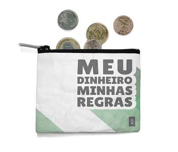 dobra - Porta Moedas - MEU DINHEIRO MINHAS REGRAS