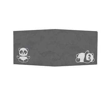 dobra - Nova Carteira Clássica - Panda moods