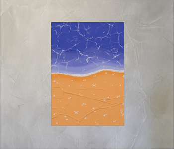 dobra - Lambe Autoadesivo - On the Beach
