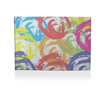 dobra porta cartao coloridinho