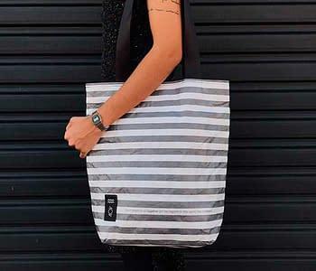 dobra bag return striped