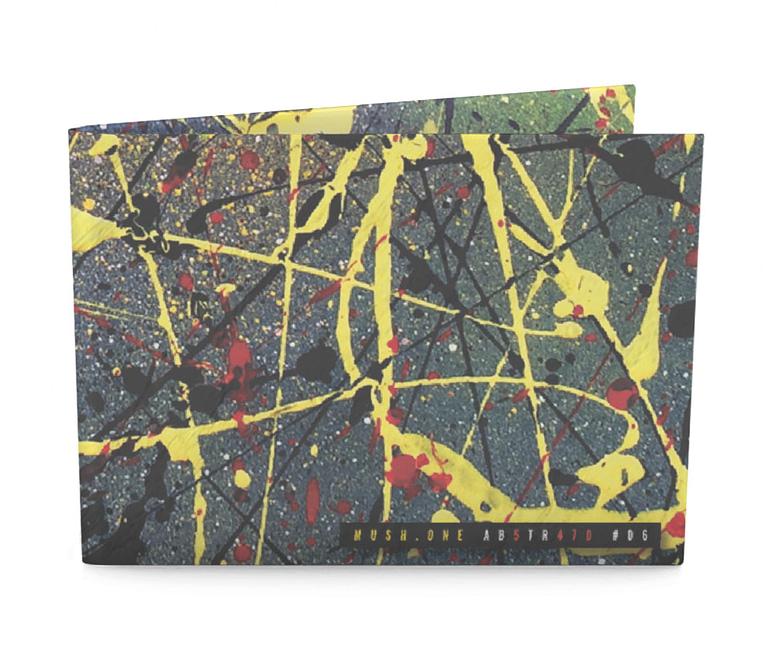 dobra carteira classica abstrato 6