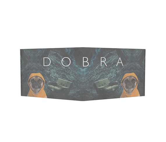 dobra - Carteira Old is Cool - Dobra Dark