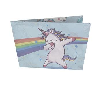 dobra - Nova Carteira Clássica - Dab Unicornio