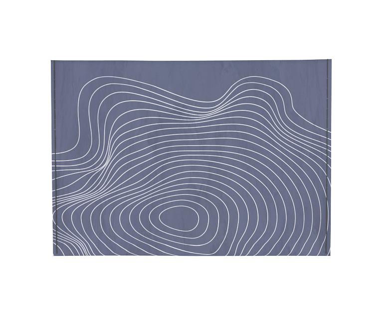 dobra - Porta Cartão - ondas geográficas