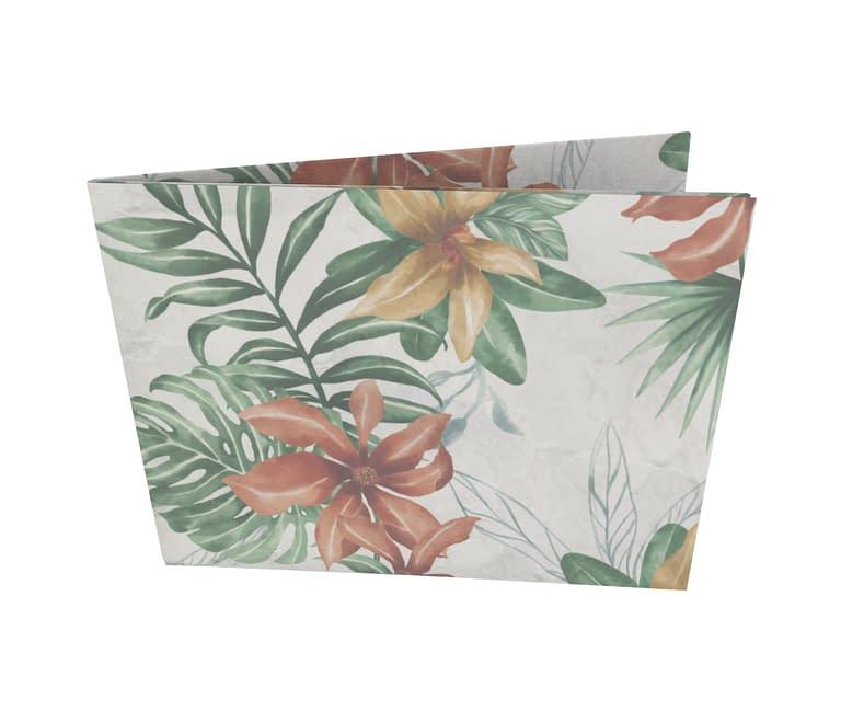 dobra - Nova Carteira Clássica - Floral Tropical