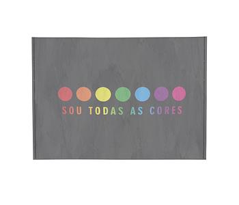 dobra - Porta Cartão - SOU TODAS AS CORES